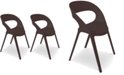 Furniture Carla Indoor/Outdoor Chairs (Set Of 2)