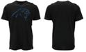 '47 Brand Men's Carolina Panthers Logo Scrum T-Shirt