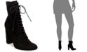 Steve Madden Women's Elley Lace-Up Block-Heel Booties