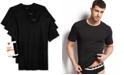 BOSS Men's Underwear, Cotton 3 Pack Crew Neck Undershirts