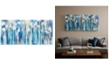 JLA Home INK+IVY Ocean Breeze Blossom 4-Pc. Gel-Coated Canvas Print Set