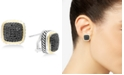 EFFY Collection Balissima by EFFY® Diamond Two-Tone Stud Earrings (7/8 ct. t.w.) in Sterling Silver & 18k Gold