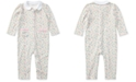 Polo Ralph Lauren Ralph Lauren Baby Girls Printed Cotton Coverall