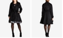 City Chic Trendy Plus Size Belted Coat