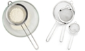 Martha Stewart Collection 3-Pc. Sieve Set, Created for Macy's