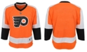 Authentic NHL Apparel Philadelphia Flyers Blank Replica Jersey, Big Boys (8-20)