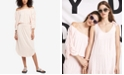 DKNY Ruched Off-The-Shoulder Dress, Created for Macy's
