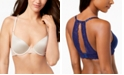 INC International Concepts INC Smooth & Lace Racerback Demi Bra, Created for Macy's
