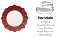Villeroy & Boch CLOSEOUT! Toy's Delight Red Dinner Plate