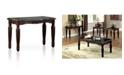 Furniture of America Jinson Espresso Sofa Table