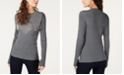 INC International Concepts I.N.C. Embellished Fringe Sweater, Created for Macy's