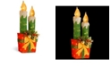 "National Tree Company National Tree PreLit 30"" Sisal Candle and Gift Box Decoration"