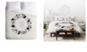 Deny Designs Iveta Abolina Silver Dove B Twin Duvet Set