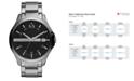 A|X Armani Exchange Watch, Men's Stainless Steel Bracelet 46mm AX2103