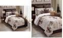Hallmart Collectibles Baskin 14-Pc. Queen Comforter Set, Created for Macy's