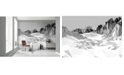 Brewster Home Fashions Icefields Wall Mural