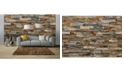 Brewster Home Fashions Colorful Stone Wall Mural