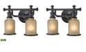 ELK Lighting Acadia Collection 2 Light Bath In Oil Rubbed Bronze