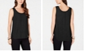 Alfani Sleeveless Scoop-Neck Blouse, Created for Macy's
