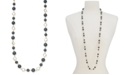 """Charter Club Gold-Tone Crystal & Colored Imitation Pearl Strand Necklace, 42"""" + 2"""" extender, Created for Macy's"""