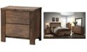 Furniture of America Gilbert 2-drawer Nightstand