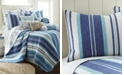 Levtex Camps Bay Coastal Print Reversible Full/Queen Quilt Set