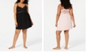 INC International Concepts INC Plus-Size Lace-Detail Chemise Nightgown, Created for Macy's