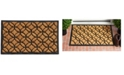 "Home & More Circles 18"" x 30"" Coir/Rubber Doormat"