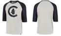 '47 Brand Men's Chicago Cubs Coop Throwback Club Raglan T-Shirt