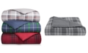 Martha Stewart Collection Essentials by Martha Stewart Collection Reversible Plaid King Comforter, Created for Macy's