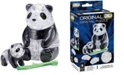 BePuzzled 3D Crystal Puzzle-Panda and Baby - 50 Pcs