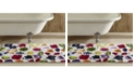 Better Trends Picasso Floral Bath Rug