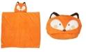 Jesse & Lulu 3 Stories Trading Toddler Plush Fox Hooded Blanket