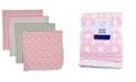 Baby Mode 3 Stories Trading Baby Receiving Blankets, Set Of 4