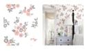 "Brewster Home Fashions Malaga Floral Wallpaper - 396"" x 20.5"" x 0.025"""