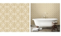 """Brewster Home Fashions Network Links Wallpaper - 396"""" x 20.5"""" x 0.025"""""""