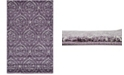 Bridgeport Home Felipe Fel1 Purple 5' x 8' Area Rug