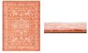Bridgeport Home Norston Nor1 Terracotta 9' x 12' Area Rug
