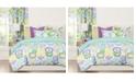 Crayola Pointillist Pansy 6 Piece Full Size Luxury Duvet Set