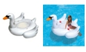"""Blue Wave Sports Elegant Giant Swan 73"""" Inflatable Ride-On Swimming Pool Float"""