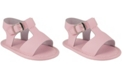 Baby Deer Baby Girl Leather T-Strap Sandal