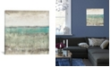 "iCanvas Aqua Horizon I by Tim Otoole Gallery-Wrapped Canvas Print - 37"" x 37"" x 0.75"""
