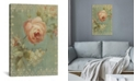 iCanvas Rose on Sage by Danhui Nai Gallery-Wrapped Canvas Print Collection