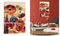 "iCanvas Joyful Garden Panel Ii by Silvia Vassileva Gallery-Wrapped Canvas Print - 60"" x 40"" x 1.5"""