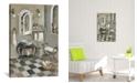 "iCanvas French Bath Iv by Silvia Vassileva Gallery-Wrapped Canvas Print - 18"" x 12"" x 0.75"""