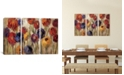 "iCanvas Asters and Mums by Silvia Vassileva Gallery-Wrapped Canvas Print - 40"" x 60"" x 1.5"""