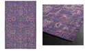 Kaleen Relic RLC01-95 Purple 9' x 12' Area Rug