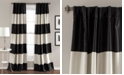 "Lush Decor Montego Stripe 52"" x 84"" Curtain Set"