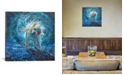 "iCanvas Play It Again Sam by Iris Scott Wrapped Canvas Print - 37"" x 37"""