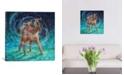"iCanvas Old Rem by Iris Scott Wrapped Canvas Print - 37"" x 37"""